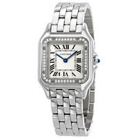 银联专享:Cartier 卡地亚 Panthere Meduim 钻石表盘 女士腕表