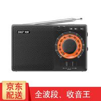先科(SAST) 收音機全波段老人老年人新款便攜式收復古老式懷舊可充電全頻調頻信號強的立體聲 A1收音機標配