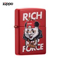 zippo打火機美國原裝ZIPPO打火機中國新說唱聯名款 233-C-000034嘻哈熊貓