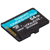 1日0点、61预告:Kingston 金士顿 U3 V30 A2 SDCG3 TF MicroSD存储卡 64GB