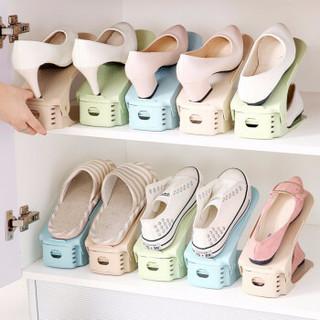 静闲居 207 双层可调节鞋子收纳架 10个装