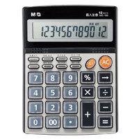 M&G 晨光 语音型桌面通用办公计算器 12位大屏幕 ADG98715 *5件