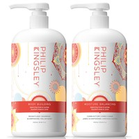 PHILIP KINGSLEY 菲利普金斯利 情人节限量款护发套装(丰发洗发水 1L+保湿平衡护发素1L)