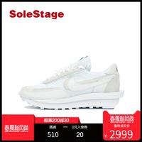 Sacai x Nike LDV Waffle 联名解构纯白跑鞋 BV0073-101