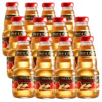 NEU'S(樂易滋)德國原裝進口果汁飲料 天然蘋果汁 玻璃瓶裝200ml*12瓶整箱 *2件