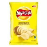 Lay's 樂事 薯片 美國經典原味 75g *4件