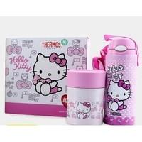 THERMOS 膳魔师  Hello Kitty 400ML吸管杯+300ML焖烧杯礼盒套装