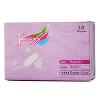 有券的上 : Tmaxx 指入式無香型衛生棉條(普通型)12支裝 *8件