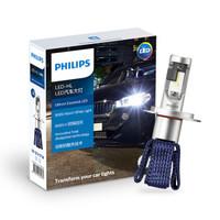 PHILIPS 飛利浦 星耀光 LED車燈 H4  汽車燈泡大燈近遠光燈 兩支裝