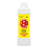 京东PLUS会员、限地区 : 哆咪拉 84消毒液 1000g +凑单品