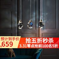 鴻居 全銅吊燈 后現代簡約客廳港式吊燈