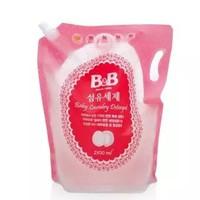 B&B 保寧 嬰幼兒洗衣液補充裝 2100毫升 3件裝 *4件