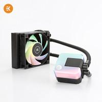 3日11點 : EKWB 毅凱火力 AIO 120 D-RGB 一體式CPU水冷散熱器