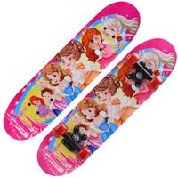 滑板四輪雙翹板公路刷街成人滑板車4-12歲兒童青少年楓木長板抖音滑板 公主