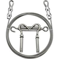 卡夫威爾 鋼絲晾衣繩 304不銹鋼 5米  YJ2684A *6件