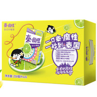 統一 泰魔性 泰式檸檬茶 250ml *16盒 整箱裝 禮盒裝 泰式檸檬茶飲料 *2件