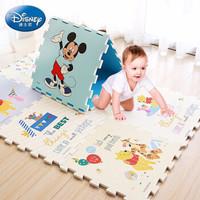 迪士尼爬行墊拼接XPE環保嬰兒玩具拼圖泡沫地墊米奇迪士尼XPE材質58x58厚2cm(9片裝))