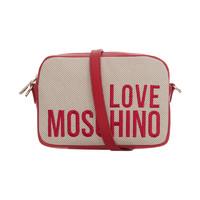 "LOVE MOSCHINO ""愛""莫斯奇諾 女士Logo相機包單肩斜挎包"