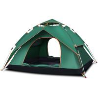 探險者全自動帳篷戶外防暴雨3-4人加厚防雨雙人2單人野營野外露營