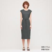 UNIQLO 優衣庫 426029 女裝 圓領連衣裙