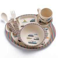 bobei elephant 邦貝小象 竹纖維兒童餐具套裝
