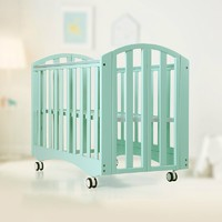 KUB 可優比  實木折疊嬰兒床 120*60