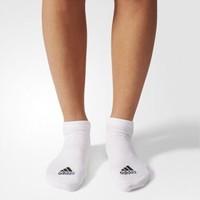 阿迪達斯官網 adidas 訓練 男女 低跟襪子 白 AA2314 如圖 3942