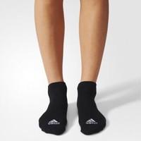 阿迪達斯官網 adidas 訓練 男女 低跟襪子 黑 AA2315 如圖 3538
