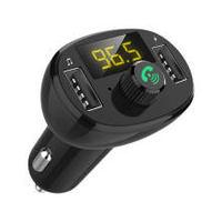 29日18點:摩集客 MOGCO 車載藍牙5.0播放器無損音質MP3接收器FM發射器雙USB大功率車載QC3.0快充充電器支持TF卡U盤