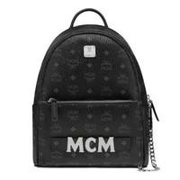 MCM MMK8AVE83BK001 中性兩用雙肩背包