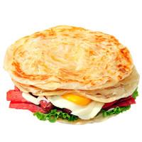 臺灣風味手抓餅家庭方便早餐餅煎餅面餅速凍面點食品 60g*50片