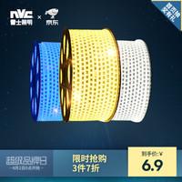 NVC 雷士 雷士照明 LED燈帶 多色亮貼片霓虹 3528 暖白光 單筆單色滿10米送連接頭 *3件