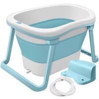 世紀寶貝(babyhood)嬰兒折疊浴盆浴桶二合一