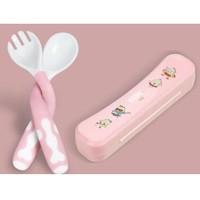 LITTLE BEAN 小豆苗  嬰兒訓練勺叉套裝