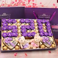 生日禮物送女友 520限量款巧克力禮盒