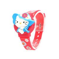 Hello Kitty兒童電子跳字表凱蒂貓兒童學生童趣卡通手表兒童禮物