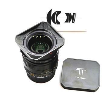 TTArtisan 铭匠光学 M35mm-F1.4 微单相机大光圈镜头 黑色 徕卡M口
