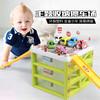nuobaman 諾巴曼兒童停車場玩具車合金小汽車模型收納智力動腦兒童益智抖音軌道車玩具 *3件