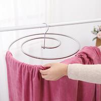 曬被子神器螺旋式曬衣架圓形旋轉晾衣架多功能陽臺涼床單被子衣桿