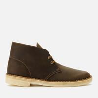 銀聯專享 : Clarks Originals 男款真皮沙漠靴
