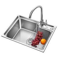 ARROW 箭牌衛浴 廚房304不銹鋼單槽套餐