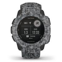 佳明(GARMIN)instinct心率手表本能系列戶外GPS跑步游泳運動智能軍表Tactical