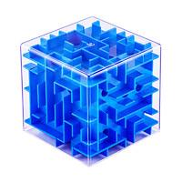 勾勾手 3d立體迷宮 小號藍色6cm