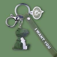 醉蓝 zl00000131 几何动物卡通钥匙链