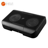 HiVi 惠威  V6汽車音響自帶功放雙6英寸喇叭專業改裝車載揚聲器通用型音箱有源超薄純重低音炮