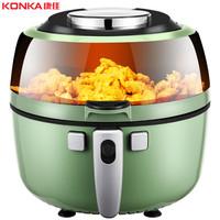 康佳(KONKA)空氣炸鍋6.5升大容量無油煙多功能電炸鍋智能觸控薯條機煎炸鍋 KGKZ-6505
