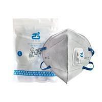清科藍帶閥防護 KN95防粉塵顆粒物PM2.5活性炭防霧霾口罩10只裝(大號) *2件