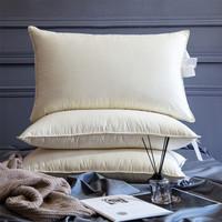 历史低价:霞珍 95%白鹅绒枕芯白色 单只装 46*72cm
