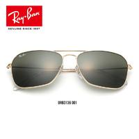 RayBan 雷朋 0RB3136 男女款全框復古簡約潮流時尚墨鏡