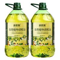 京東PLUS會員 : 康膳源 山茶橄欖玉米食用植物調和油 5L*2瓶